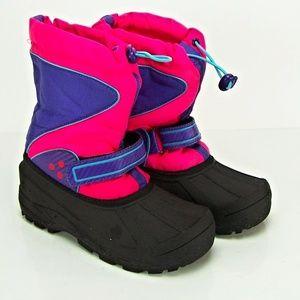 CIRCO Youth Girls Warm Snow Rain Winter Boots